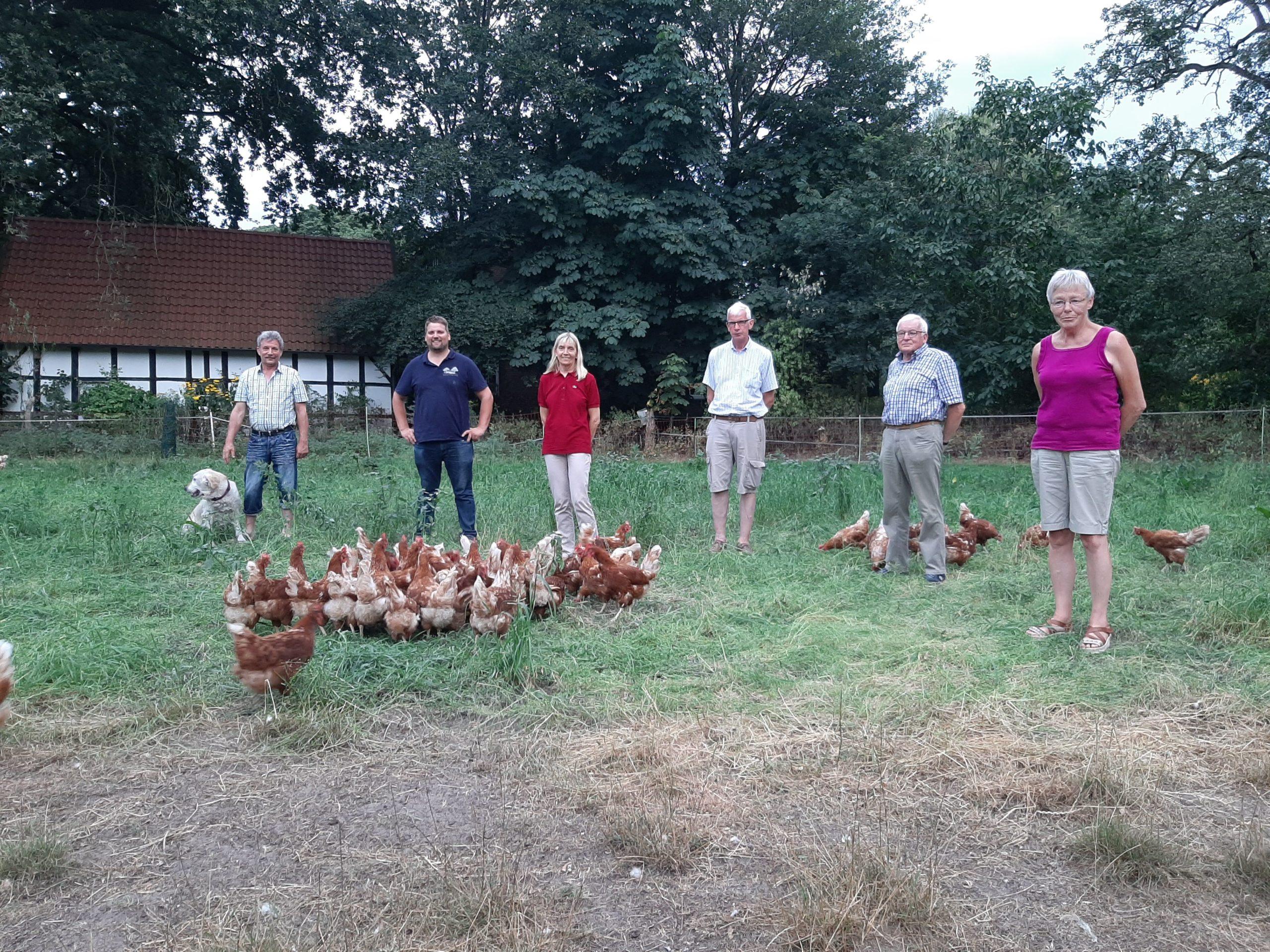 Die UWG Saerbeck besucht den Hof Linderskamp in Saerbeck-Middendorf  – Nachhaltige Produktion und Direktvertrieb vor Ort